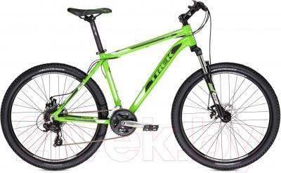 Велосипед Trek 3700 Disc (21, Lime-Green-Black, 2014) - общий вид