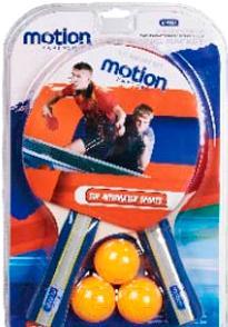 Набор для пинг-понга Motion Partner MP238В - общий вид