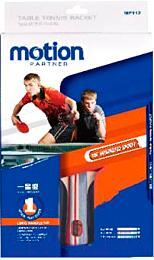 Ракетка для настольного тенниса Motion Partner MP112 - в упаковке