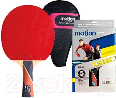 Ракетка для настольного тенниса Motion Partner MP402 - упаковка и комплектация