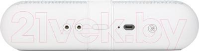 Портативная колонка Beats Pill 2.0 Speaker / MH822ZM/A (белый) - задняя панель