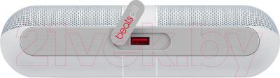 Портативная колонка Beats Pill 2.0 Speaker / MH822ZM/A (белый) - разъем Usb