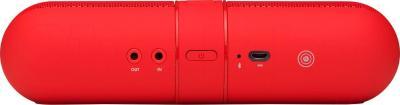 Портативная колонка Beats Pill 2.0 Speaker / MH832ZM/A (красный) - задняя панель
