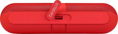 Портативная колонка Beats Pill 2.0 Speaker / MH832ZM/A (красный) - вид сверху