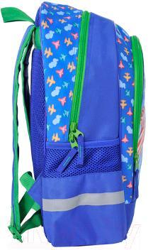 Школьный рюкзак Paso 14-122SA - вид сбоку