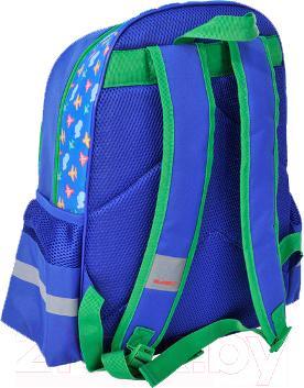 Школьный рюкзак Paso 14-122SA - вид сзади