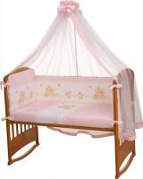 Комплект в кроватку Perina Фея Ф3-01.3 (Лето розовый) -