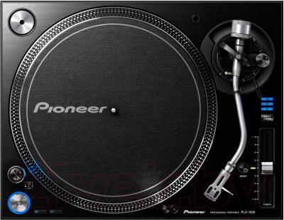 Проигрыватель виниловых пластинок Pioneer PLX-1000 - вид сверху