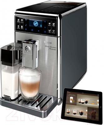 Кофеварка эспрессо Philips Saeco GranBaristo Avanti HD8969/09 - планшет не входит в комплект