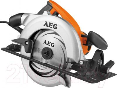 Дисковая пила AEG Powertools KS 55 C (4935411830) - общий вид