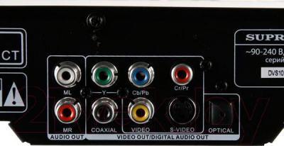 DVD-плеер Supra DVS-102X - разъемы
