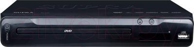 DVD-плеер Supra DVS-105UX (черный) - общий вид