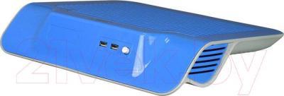 Подставка для ноутбука Deepcool N300 (синий) - вид сзади