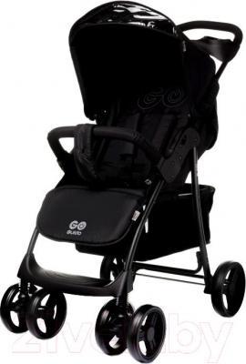 Детская прогулочная коляска 4Baby Guido 2015 (черный) - общий вид
