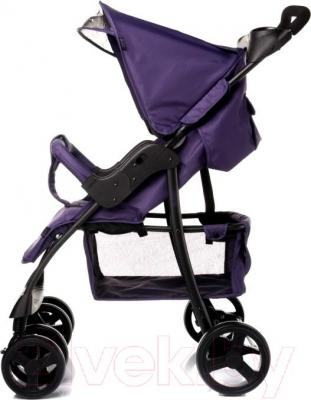 Детская прогулочная коляска 4Baby Guido 2015 (черный) - вид сбоку