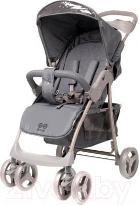 Детская прогулочная коляска 4Baby Guido 2015 (серый) - общий вид