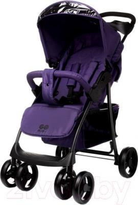 Детская прогулочная коляска 4Baby Guido 2015 (фиолетовый) - общий вид