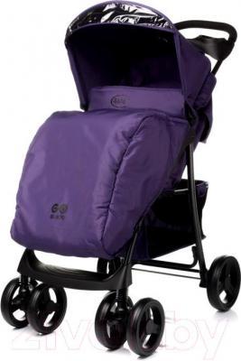 Детская прогулочная коляска 4Baby Guido 2015 (фиолетовый) - чехол для ног