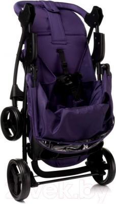 Детская прогулочная коляска 4Baby Guido 2015 (фиолетовый) - в сложенном виде