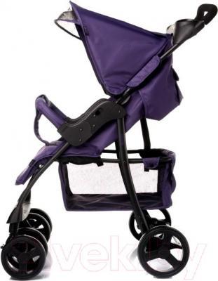 Детская прогулочная коляска 4Baby Guido 2015 (фиолетовый) - вид сбоку