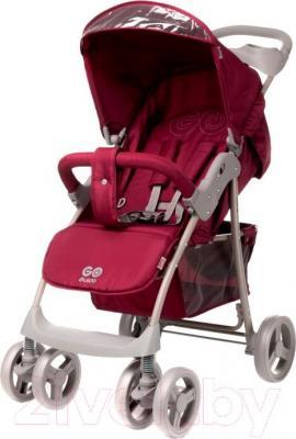 Детская прогулочная коляска 4Baby Guido 2015 (красный) - общий вид
