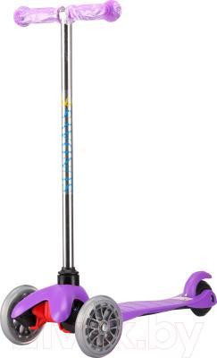 Самокат Sundays SA-100-5 (фиолетовый) - общий вид