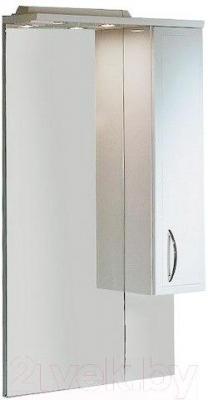 Шкаф с зеркалом для ванной Акватон Марсия 67 (1A007502MS01R) - общий вид