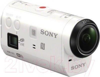 Экшн-камера Sony ActionCam HDR-AZ1VB (+велосипедный комплект крепления) - общий вид