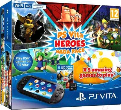 Игровая приставка Sony PlayStation Vita (PS719890317) - упаковка