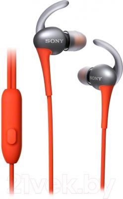 Наушники-гарнитура Sony MDR-AS800APD - общий вид