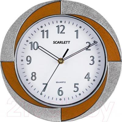 Настенные часы Scarlett SC-55RA - общий вид