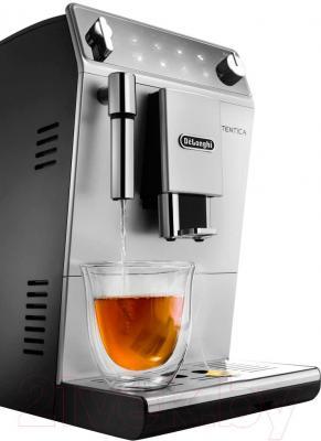 Кофемашина DeLonghi Autentica ETAM 29.510.SB - подача горячей воды