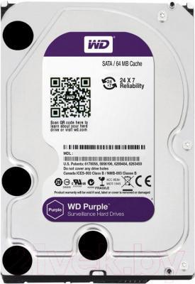 Жесткий диск Western Digital Purple 6TB (WD60PURX) - общий вид