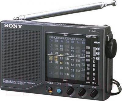 Радиоприемник Sony ICF-SW22 (Silver) - общий вид