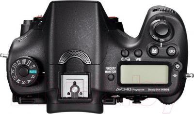 Зеркальный фотоаппарат Sony ILCA-77M2Q - вид сверху