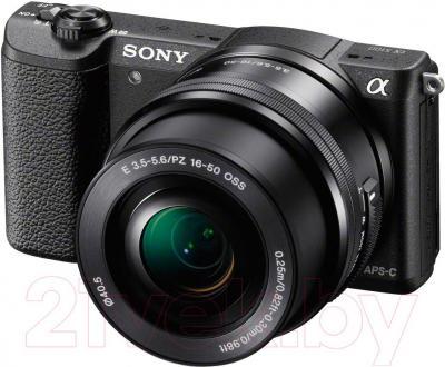 Беззеркальный фотоаппарат Sony ILC-E5100LB - общий вид