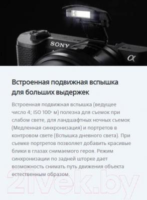 Беззеркальный фотоаппарат Sony ILC-E5100LB