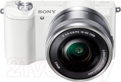 Беззеркальный фотоаппарат Sony ILC-E5100LW - общий вид