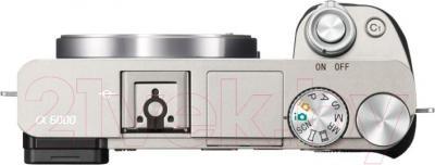 Беззеркальный фотоаппарат Sony ILC-E6000LW - вид сверху