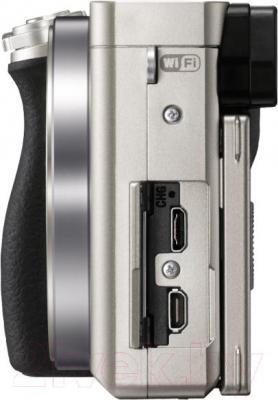 Беззеркальный фотоаппарат Sony ILC-E6000LW - общий вид
