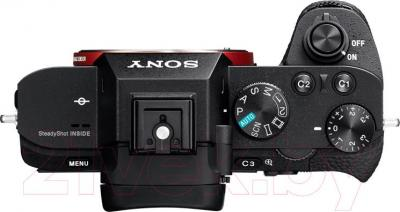 Беззеркальный фотоаппарат Sony ILCE-7M2KB Kit (FE 28-70/3.5-5.6 OSS) - вид сверху