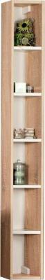 Шкаф-пенал для ванной Акватон Йорк (1A171103YOB40) - общий вид (аксессуары не входят в комплект)