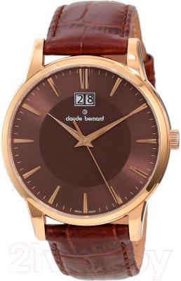 Часы мужские наручные Claude Bernard 63003-37R-BRIR