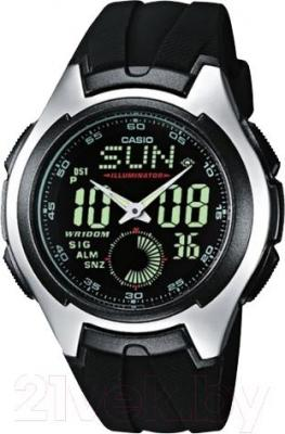 Часы мужские наручные Casio AQ-160W-1BVEF - общий вид