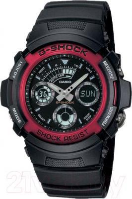 Часы мужские наручные Casio AW-591-4AER - общий вид