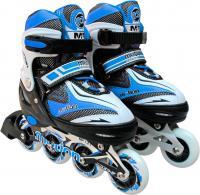 Роликовые коньки Motion Partner MP121M (M, голубой) -