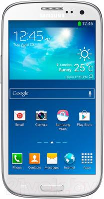 Смартфон Samsung Galaxy S III Duos / I9300I (белый) - общий вид