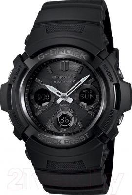 Часы мужские наручные Casio AWG-M100-1AER - общий вид