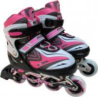 Роликовые коньки Motion Partner MP121M (M, розовые) -