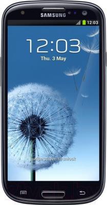 Смартфон Samsung Galaxy S III Duos / I9300I (черный) - общий вид